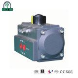 Neumáticos de alta presión del actuador de válvula de bola de gas