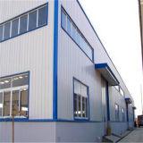 Edificio de la estructura de acero del almacén del taller de la fabricación del diseño con la certificación del Ce