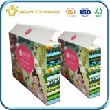 Коробка нестандартной конструкции бумажная упаковывая для косметики