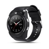 Do relógio esperto do esporte do cartão da sustentação SIM TF do relógio de V8 relógio esperto para o Android do Ios