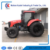 Tractor van het Landbouwbedrijf van de Landbouwmachines de Goedkope 4WD 120HP van China