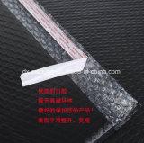 Sac noir en gros d'enveloppe de bulle de membrane de PE de constructeur