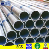 Tubo rotondo di Galvanzied della sezione vuota con la protezione di plastica (SP061)