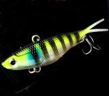 Amorce d'attrait de forme de la perche 20g des poissons 9.5cm de fil d'extrémité ouverte