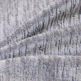 Los surtidores de China dirigen la tela de tapicería de lino del sofá del poliester de la compra 100