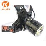 방수 IP64 옥외 빛 3W 크리 사람 고성능 LED Headlamp