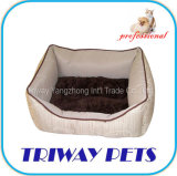 慰めのビロード犬猫ペットベッド(WY1010127A/C)