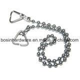 3.2Mm Хромированный металлический шарик цепь для ванной
