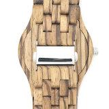 Reloj de madera del regalo natural de alto grado de múltiples funciones de la promoción del OEM