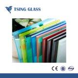 Vidro laminado colorido para parede de cortina com ISO/Ce/SGS Certifiate