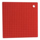 Couvre-tapis anti-calorique antidérapage Shaped de garniture de grand dos de silicones de vaisselle de cuisine