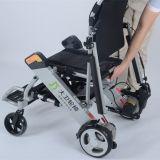 Lithium-Batterie FDA Licht-beweglicher verwendeter elektrischer Rollstuhl der Aluminiumlegierung-24V 10ah für Verkauf