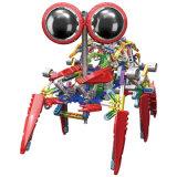 La construction électrique DIY de Loz place le plastique branchant le bloc en ligne de jouet pour des gosses