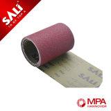 El uso de mano Flexible Paño abrasivo rollo con alta eficiencia y larga vida término