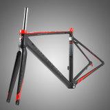 Soldadura plana 700c Estrutura de bicicleta de estrada de alumínio com logotipo refletora