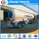 3ejes 50000 litros cisterna de almacenamiento de depósito de gas GLP camión remolque semi remolque cisterna de Gas LPG LPG remolque remolque semi remolque Tanque de presión para la venta
