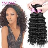 Tessuto brasiliano dei capelli umani dell'onda profonda del grado 7A di Yvonne