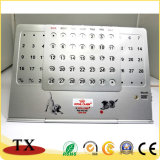 Office Supply Perpetual Desk Calendar with Customized Logo