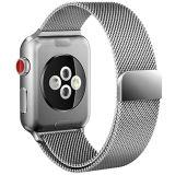 Loop Milanese ajustável fecho magnético de Aço Inoxidável Banda Iwatch para Apple assistir