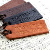 Customize High Quality Leather Tag for Clothing