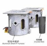 Ferro de latão cobre alumínio forno de indução de fusão
