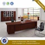 Bureau stratifié par mélamine de gestionnaire de couleur foncée (NS-ND004)