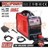 IGBT 160AMP Inverter-Schweißgerät-Lichtbogen-Schweißer des Heißstart-MMA