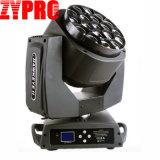Zypro 단계 빛 19*15W K10 급상승 LED 이동하는 헤드