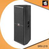 15 professioneller hölzerner passiver Lautsprecher Srx-215 verdoppeln des Zoll-2600W