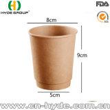 Бумажный стаканчик 16 Oz двойной изолированный стеной Kraft