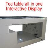En el interior de la publicidad de forma independiente la visualización de vídeo mesa de café kiosco