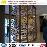 Ventana de metal decorativos pantallas Pantallas de metal con corte láser