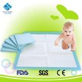 Almofadas em mudança descartáveis de Backsheet do PE do mais baixo preço para o bebê