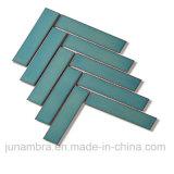 32.5X145mm Fosco Cinza Espinha de mosaico de porcelana vidrada azulejos de parede