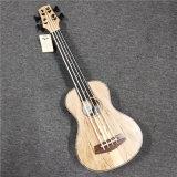 30 Inch fretless bass Ukulele para los profesionales