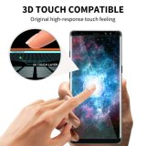 Protector curvado 3D de la pantalla del vidrio Tempered de la cobertura total del borde de la dureza de Ctunes 9h para la nota 8 de la galaxia de Samsung