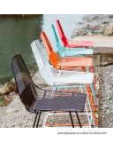 Bester Preis-Patio-im Freienfreizeit-Seiten-Draht-Stuhl für das Kampieren