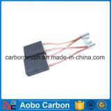 Escova de carbono CH33N da grafita da fonte para o motor elétrico