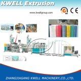Chaîne de production spiralée de boyau d'aspiration de PVC, extrudeuse résistante chimique de boyau