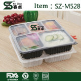 BPA geben Fach-haltbaren Plastiknahrungsmittelmahlzeit-Vorbereitung Bento Behälter des Teil-Steuer5 frei (M528)