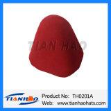 女性および人のためのウールのフェルトの帽子の円錐形