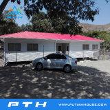 고품질 표준 Prefabricated 가벼운 강철 별장 모듈 집