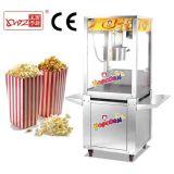 Machine de maïs éclaté avec le matériel à haute production de casse-croûte de générateur de maïs éclaté de chariot