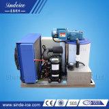 Automático refrigerado por aire el agua dulce flake ice maker