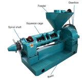 El equipo de molino de aceite de ricino con una gran caja de cambios de aceite de cacahuete tornillo Prensa prensa de aceite mecánica -C