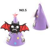 Decoración divertida del sombrero del papel del partido de Víspera de Todos los Santos de los cabritos