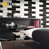 """3""""x12"""" Branco Cerâmico ondulada mosaico de metro para a parede do banheiro e cozinha"""