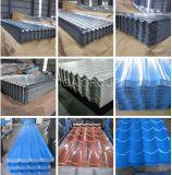 La azotea acanalada galvanizada cubre la azotea cubierta Aluzinc del color del material para techos del metal