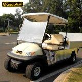 白2のシートの電気ゴルフカートのWiithの貨物