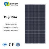 панель альтернативной энергии силы модуля 130W PV солнечная